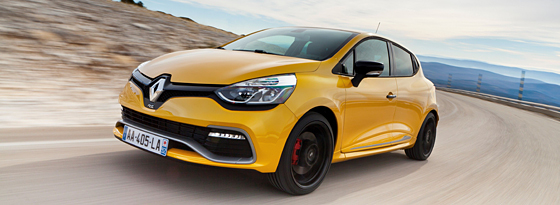 Renault Clio R.S. Front