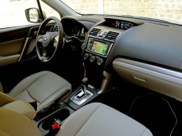 Subaru Forester innen