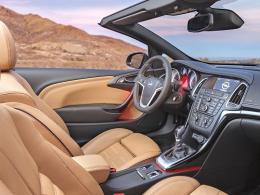 Opel Cascada Innenraum