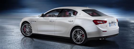 Maserati Ghibli Heck