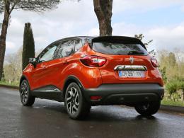 Renault Captur Heck