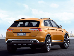 VW CrossBlue Concept Heck