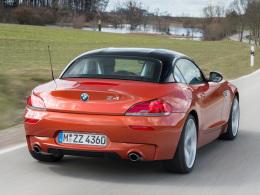 BMW Z4 Heck