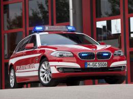 BMW 5er Touring Feuerwehr