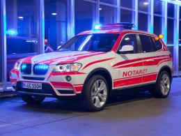 BMW X3 Notarzt