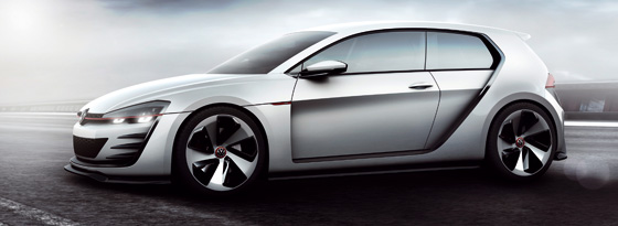 VW Golf Vision GTI