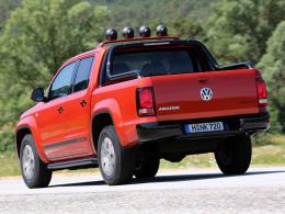 VW Amarok Heck