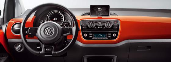 VW groove-up! Armaturen