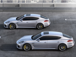 Porsche Panamera kurz, lang
