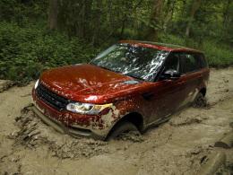 Range Rover Sport Schlamm