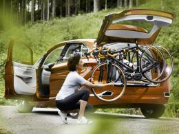 Concept Active Tourer Outdoor/Fahrrad-Trägersystem