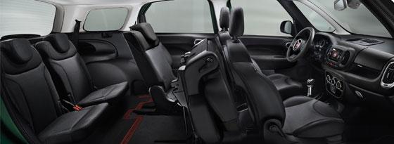 Fiat 500 L Living innen