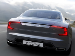 Volvo concept Coupe Heck