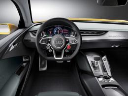 Audi Sport quattro concept Innenraum