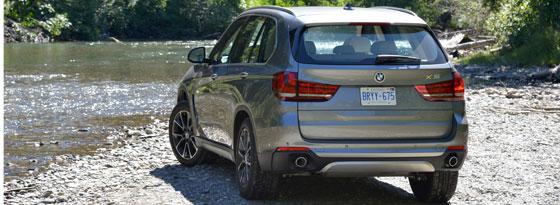 BMW X5 Heck