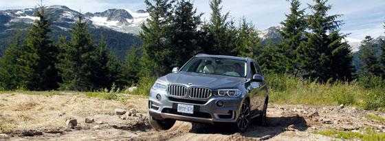 BMW X5 Gelände