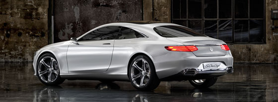 Mercedes Concept S-Class Coupe Heck