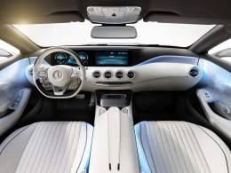 Mercedes Concept S-Class Coupe innen