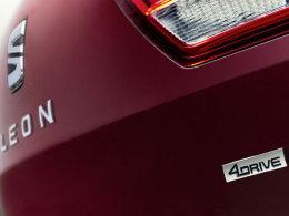 Seat Leon ST 4Drive Typenschild