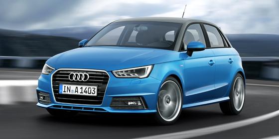 �u�erlich stand der S1 Pate: Der neue Audi A1.
