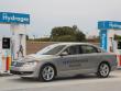 Autos tanken Wasserstoff: Der Passat HyMotion.