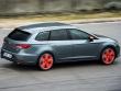Die sch�rfere Version f�llt auch optisch auf: Der neue Seat Leon ST Cupra.