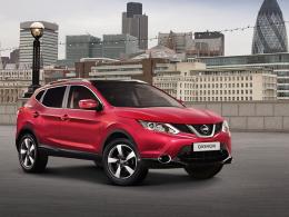 """Der neue Nissan Qashqai """"360 Grad"""" gewährt dem Fahrer unter anderem einen Rundumblick auf dem Monitor."""