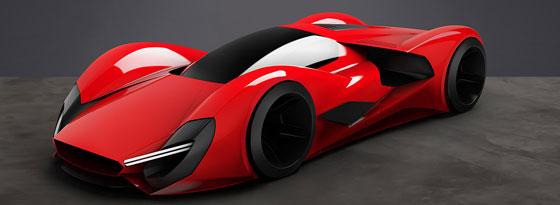 Ferrari-Entwurf Parabolica
