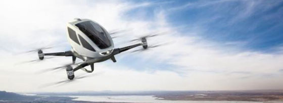 Drohne Ehang 184