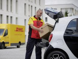 Paketzustellung im Smart