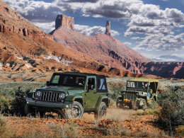 Jeep Wrangler, Willys MB