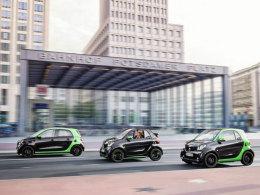 Smart forfour, Cabrio und fortwo ed