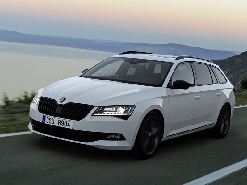 skoda superb das flaggschiff wird sportlicher neuheiten kicker. Black Bedroom Furniture Sets. Home Design Ideas