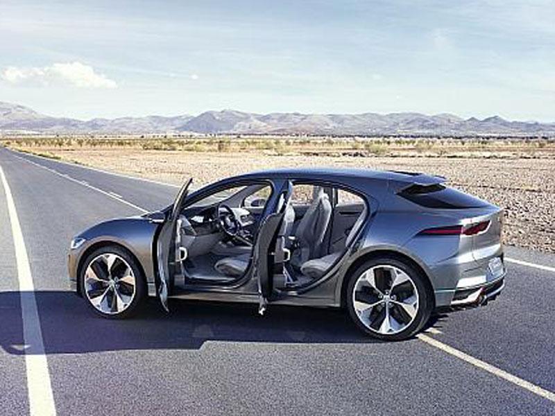 I-Pace Concept: Jaguar greift Tesla an - Neuheiten - kicker