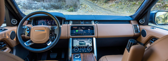 Range Rover P400e Cockpit