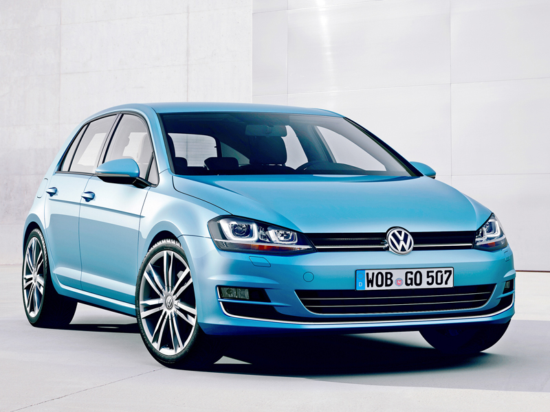 VW Golf 7 Front