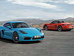 Porsche 718 Cayman, 718 Boxster