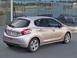 Peugeot 208 Heck