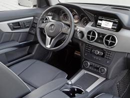 Mercedes GLK Cockpit