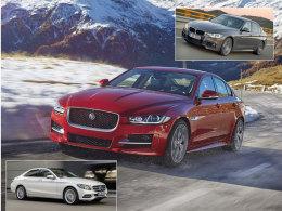 3er BMW, Jaguar XE, Mercedes C-Klasse