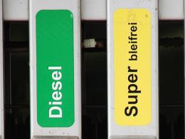 Zapfsäule Diesel Benzin