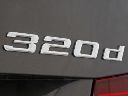 Schriftzug BMW 320d