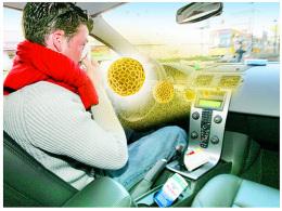 Autofahrer Allergie