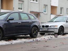 Autos nach der Silversternacht