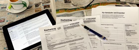 Kfz-Versicherungsformular