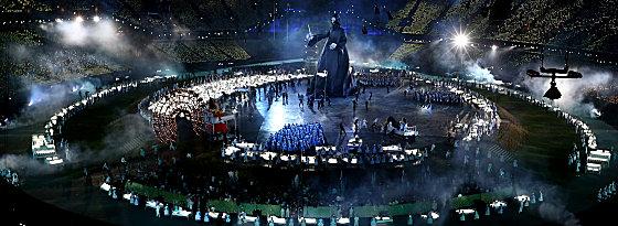 Voldemort erschreckt das Stadion
