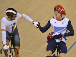 Maximilian Levy, Chris Hoy (re.)