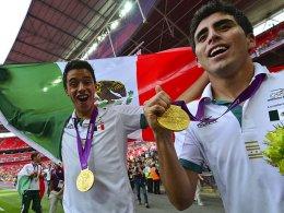 Mexikaner jubeln über Gold