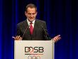 Der wiedergew�hlte DOSB-Pr�sident Alfons H�rmann