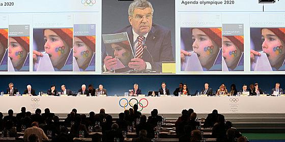 IOC-Pr�sident Thomas Bach